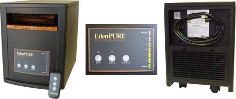 EdenPURE 1000xl Parts Heater Identifier Photo