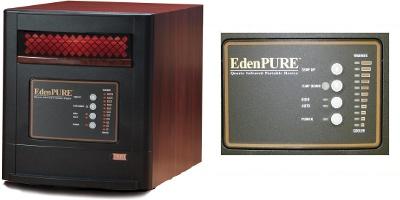 EdenPURE Gen 4 A4428/RTL Parts Heater Identifier Photo