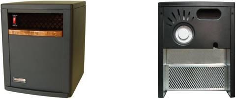 EdenPURE 500 Parts Heater Identifier Photo