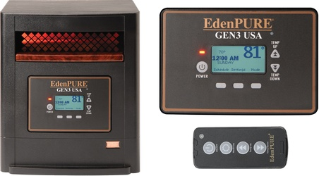 EdenPURE GEN3 USA RPE1325A5275 Parts Heater Identifier Photo