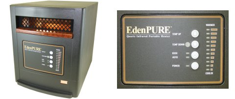 EdenPURE USA1000A4188/RTL Parts Heater Identifier Photo