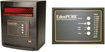 EdenPURE PERSONAL HEATER USA Parts Heater