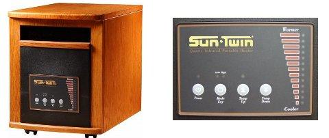 SunTwin GEN3 STWGEN3 A4136 Wood Parts Heater